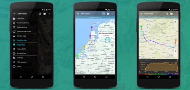 GPX Viewer - la migliore app Android per tracce, rotte e waypoint