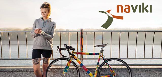 Naviki - l'applicazione per pianificare i percorsi in bicicletta