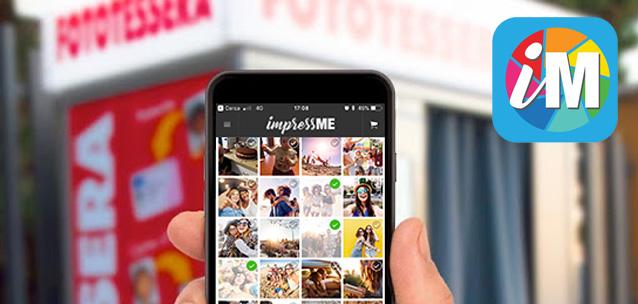 ImpressMe - l'app per stampare le foto sulle cabine fototessera
