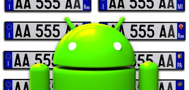 INFO TARGA - le migliori applicazioni per Android