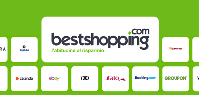 Bestshopping per iOS e Android - cashback su oltre 1000 negozi online!