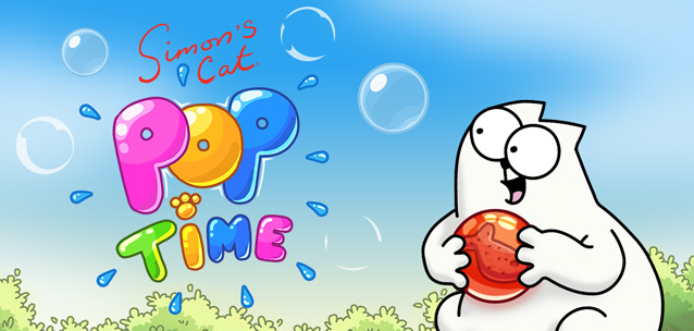 Simon's Cat - Pop Time - il mitico gatto sfida Puzzle Bobble su iOS e Android!