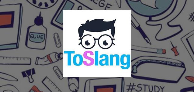ToSlang per iOS e Android - il primo Marketplace per gli studenti!