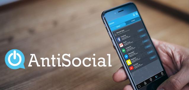 AntiSocial - l'app che controlla la dipendenza da telefono