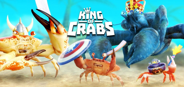 King of Crabs - un brawler multiplayer con protagonisti dei granchi!