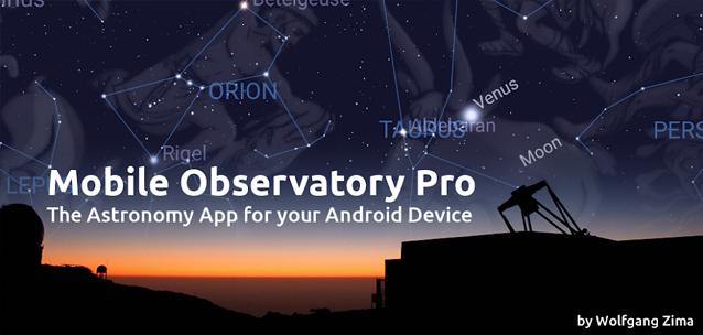 Mobile Observatory 3 Pro - la migliore app di astronomia per Android?