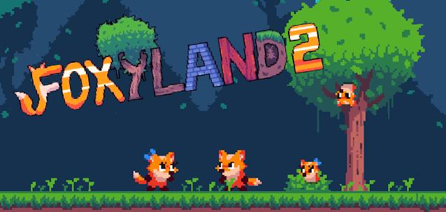 FoxyLand 2 - un delizioso retro-platform per iPhone!