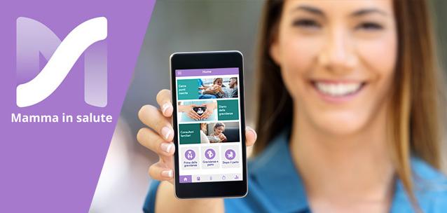 Mamma in salute - l'app che accompagna in tutte le fasi della maternità