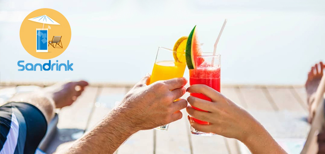 Sandrink - l'app per ordinare snack e bevande in spiaggia!