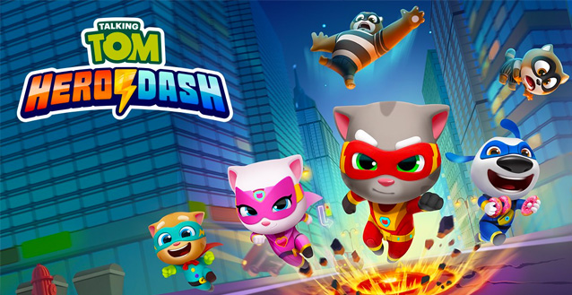 Talking Tom Hero Dash disponibile per iPhone e Android