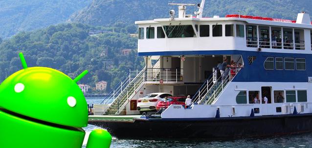 Viaggiare in traghetto - le migliori app per Android