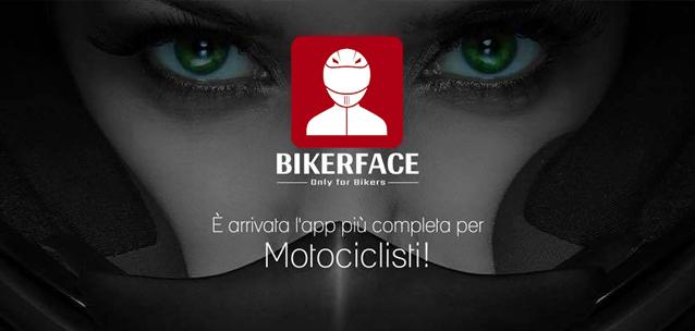 Bikerface - l'app social per i motociclisti è arrivata!