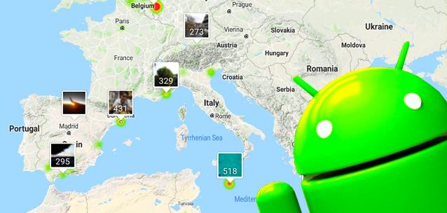 Geolocalizzazione delle foto - le migliori app per Android