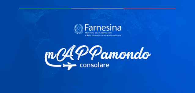 mAPPamondo consolare - l'app con i servizi degli Uffici Consolari Italiani