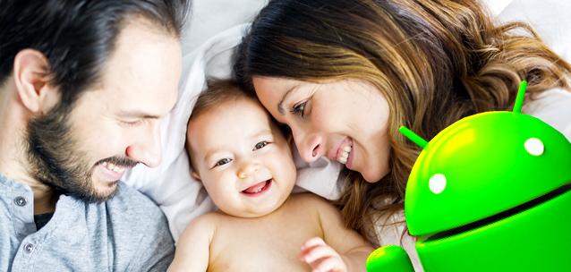 Le migliori applicazioni Android per i neo genitori