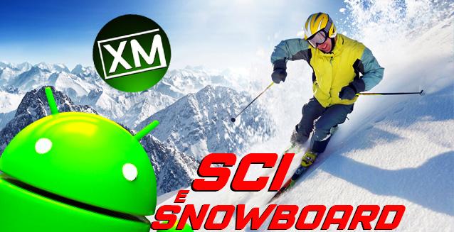 Le migliori app Android per lo sci e lo snowboard