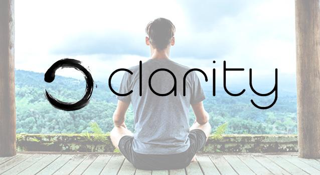Clarity - un corso di meditazione in una sola app!