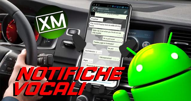 Le migliori app per ricevere NOTIFICHE VOCALI su Android