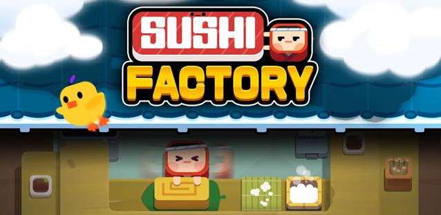 Sushi Factory - un slide puzzle divertente e... Super carino!