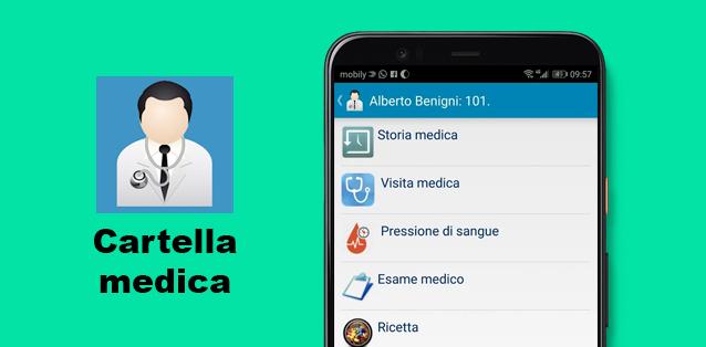 Cartella medica - l'app per salvare i dati clinici personali