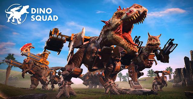 Dino Squad - un devastante PvP tra potenti dinosauri!