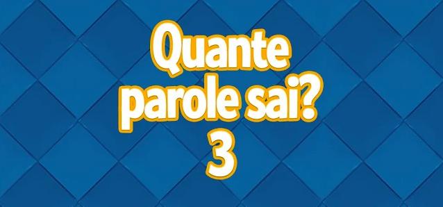 Quante parole sai? 3