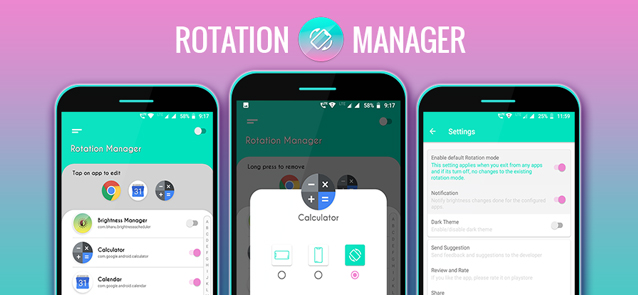 Rotation Manager