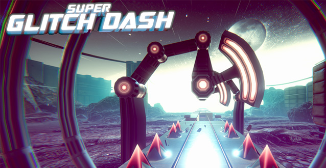 Super Glitch Dash - un incredibile endless runner!