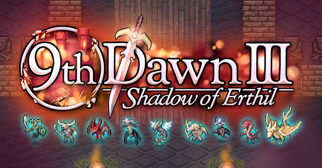 9th Dawn III RPG - un immenso gioco di ruolo in pixel art!