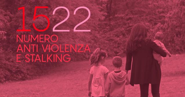 1522 Anti Violenza e Stalking