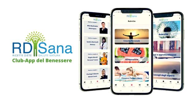 RD-Sana - l'app per il benessere fisico e mentale