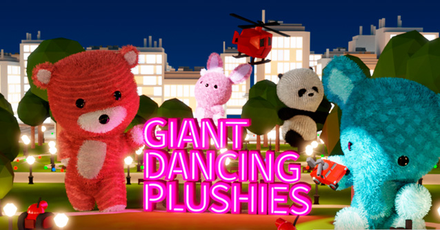 Giant Dancing Plushies