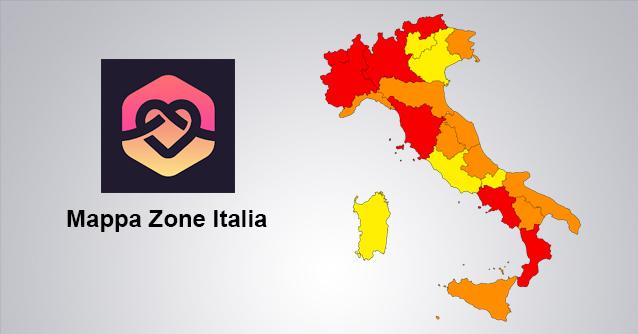 Mappa Zone Italia