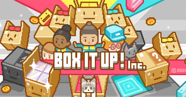 Box It Up! Inc. - un frenetico action-puzzle!!