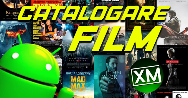 App Android per CATALOGARE FILM
