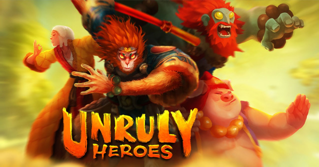 Unruly Heroes per iPhone e Android