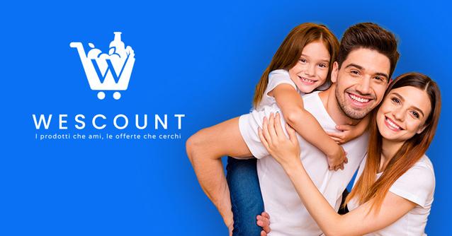 WeScount - l'app che vi rimborsa sugli acquisti!