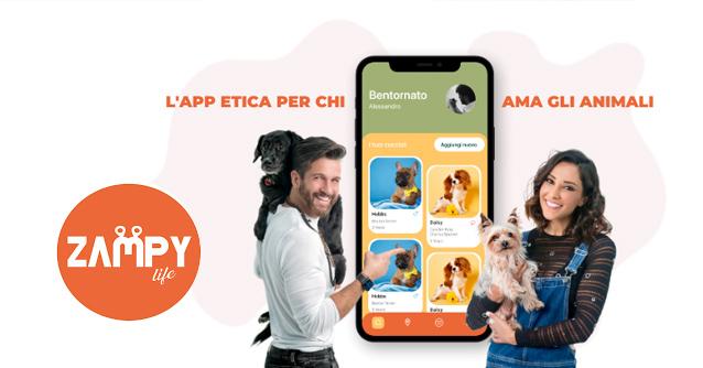 Zampy Life - l'app per chi ama veramente gli animali