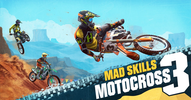 Mad Skills Motocross 3 per iPhone e Android