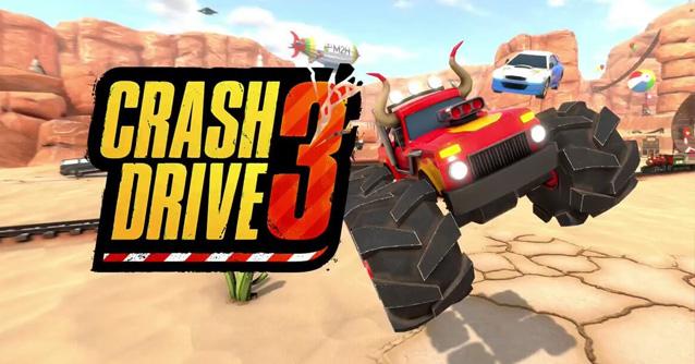 Crash Drive 3 per iPhone e Android