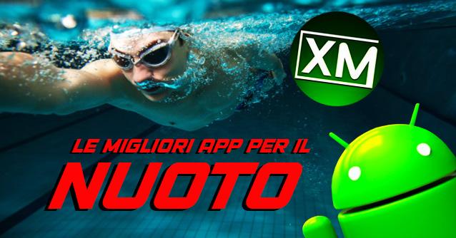 Le migliori applicazioni Android per il NUOTO