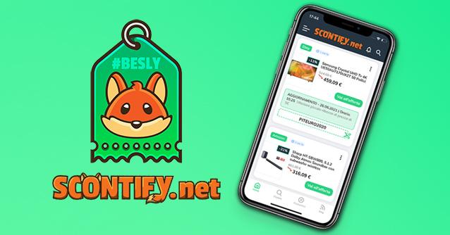 Scontify per iPhone e Android