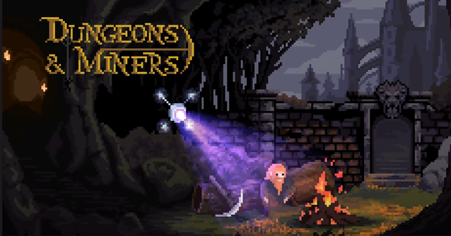 Dungeons & Miners per iPhone